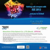 Chipshow Will Be Present At The ISE 2012