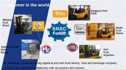 Forklift Oversea Service
