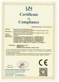 CE Certificate of PCAP touch screen