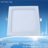 3w 6w 9W 12w 15w Ultra-thin square led panel downlight