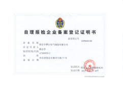 Self-care inspection declaration enterprise registration certificate