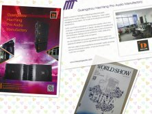 Our Products Are Published in << World Show >> Magazine