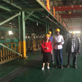 Africa Customer come to factory