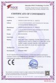 MOTOR DRIVER RoHS CERTIFICATES