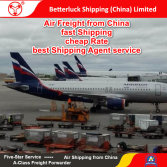 Reliable Air Freight agent from China to Russia Logistics services