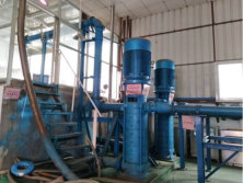 High pressure and large flow rate testing center