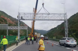 Gantry Pole Installation