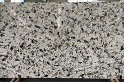 Marble color 3035 quartz stone slab for kitchen countertop/ solid surface