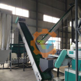 TF pellet line in Jiangsu of China, consist of belt conveyor