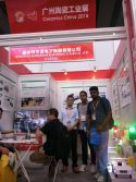 Customer visit booth for business cooperation
