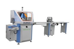 PARKER aluminium cnc single head any angle auto cutting machine