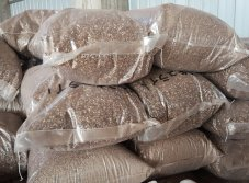 Soilless Matrix Golden and Silvery Expaned Vermiculite