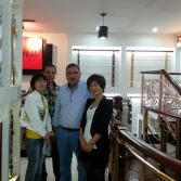 Australia client visit our show room