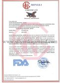 FDA Certificates for Silver Dragon Industrial Limited′s PP plastic cups.