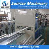 PVC elelctric cable wire trunking profile extrusion machine