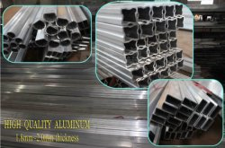 Aluminum frame thickness 25*25*1.8-2.0mm