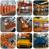 CD MD Electric Wire Rope Hoist Production Line 1