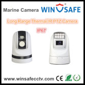 Long Range Dual Lens Thermal Imaging PTZ Camera