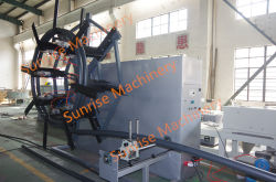 HDPE Pipe Extrusion Machine Machine With Single Disc Winder for 110mm
