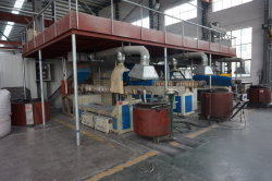extruding machine of PPraw material