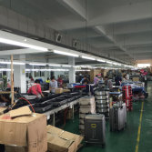 ABS/PC luggage production line