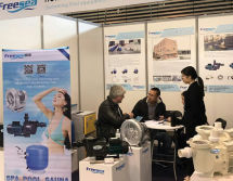 Water treatment show in France