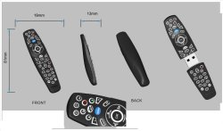 Customed Remote USB