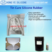 Why the silicone mould cured incompletely?