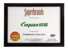 luyan has been selected as Superbrand China 2015