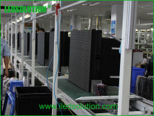 Cabinet assembly production line