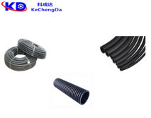 PE/PP/PVC Single Wall Corrugated Pipe