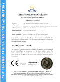 GOLDEN ELECTRIC PASSED CE CERTIFICATE