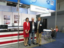 OPPEIN Kitchen Cabinet Exhibit at International Builders Show