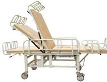 medical bed lockable gas spring