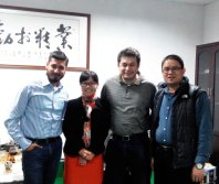 Indelible meeting in our factory