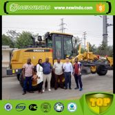 Tanzanian Client Visit XCMG Factory for Motor grader and excavator