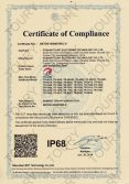 LED Working Light IP68 Certificate