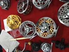 Best price CNC double color fly reel