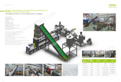 Double-stage Compacting Die-face cutting pelletizing line