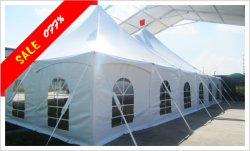 18x18M Peg and Pole Tent