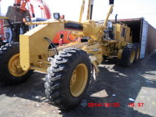 CAT 140H Grader Shipped by Container