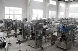 Bottle Water Labeling Machine Plant