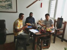 Bangladesh Client Come to visit us