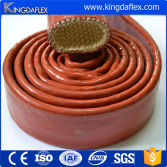 Large Diameter High Temperature Silicone Rubber Coated Fiberglass Fire Sleeve