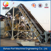 Belt conveyor system for coal mine, conveyor idler roller, steel roller