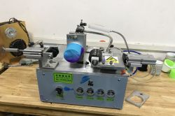 WRISTBAND EDGE CUTTING MACHINE 2