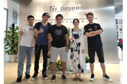 Korean customer visits Sinbosen
