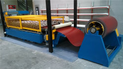 CE Standard Steel Tile Roll Forming Machine