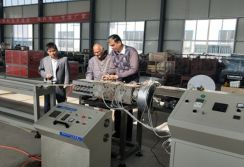 India Reliance Representative Came to Visit HUAYA Factory