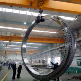 ZYS Produced The Largest Offshore Crane Bearing of China